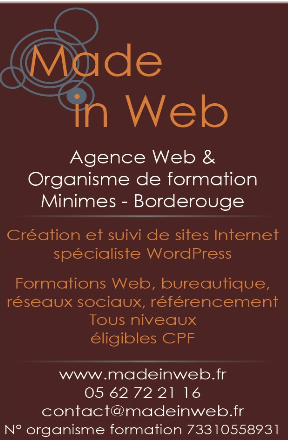 Made in Web - Agence Internet et Organisme de formation à Toulouse
