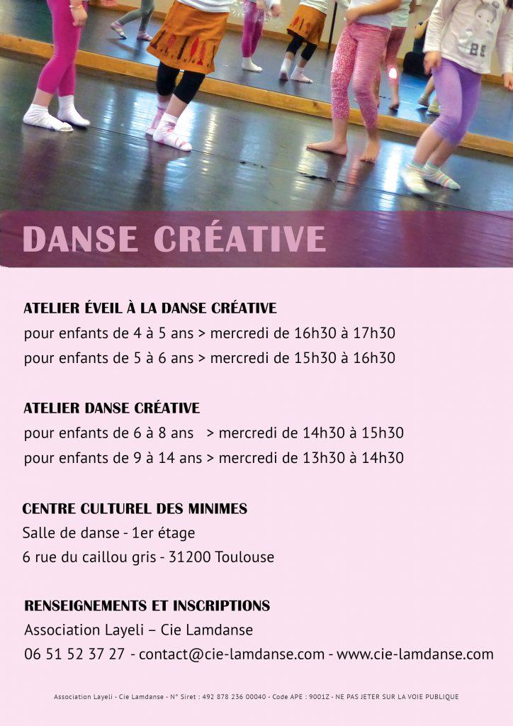 Danse créative enfants