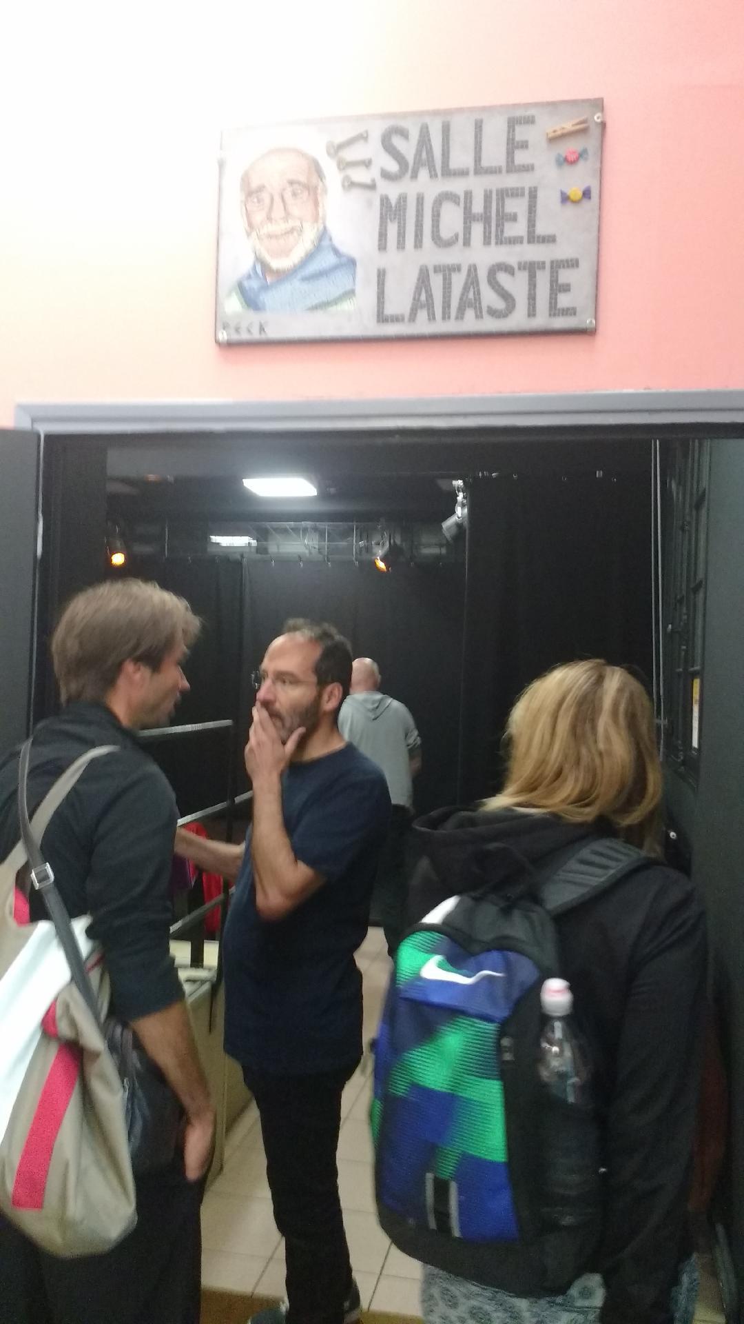 salle théâtre entrée